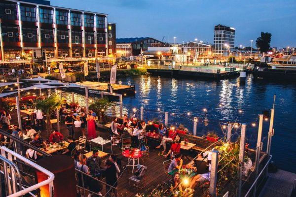 New Restaurant in Amsterdam! The Veronicaschip