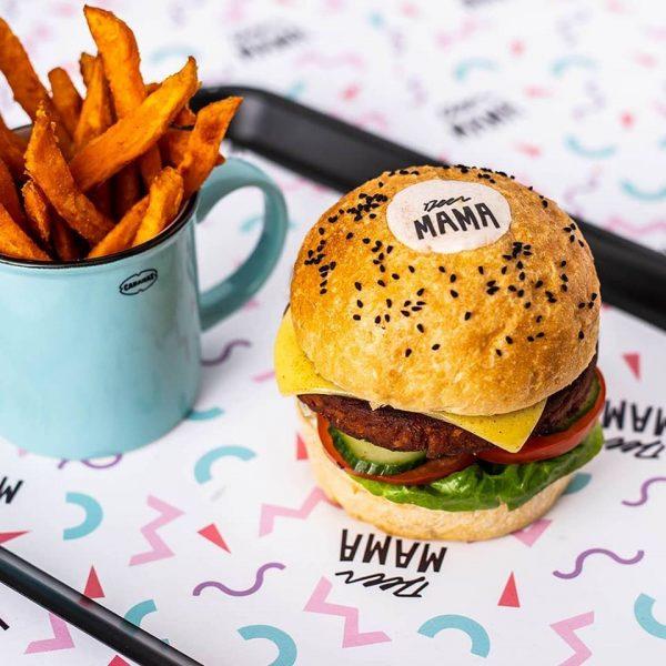 deer mama burger