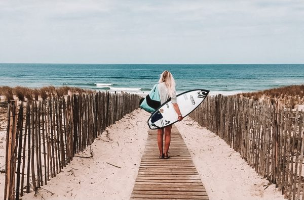 The Wanderlust of.. Pro Surfer Julia van Rooij