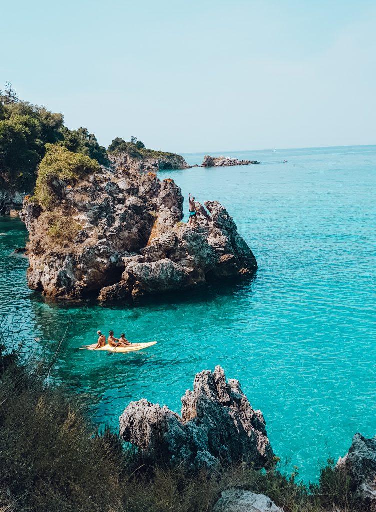 Karavostatie Beach, Perdika Greece