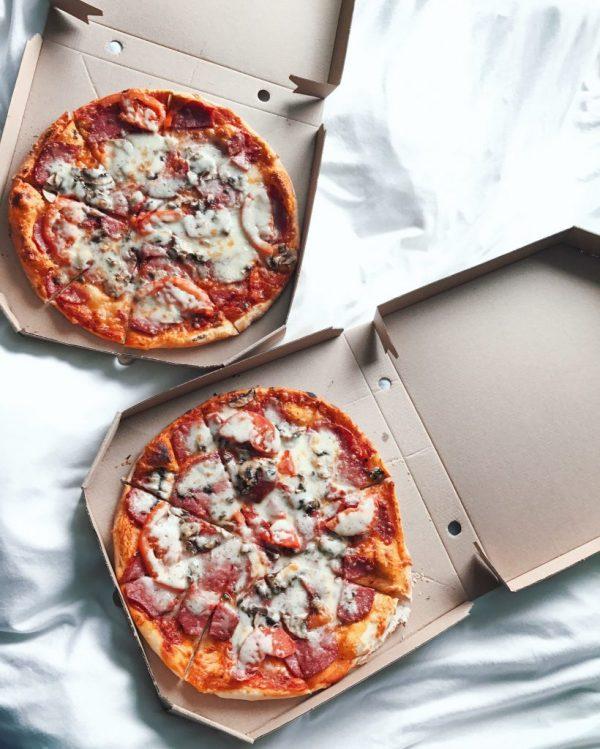 Pizza in Amsterdam