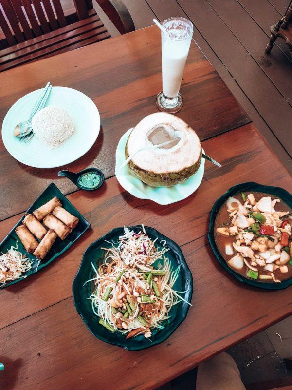 food at Adang Island Resort
