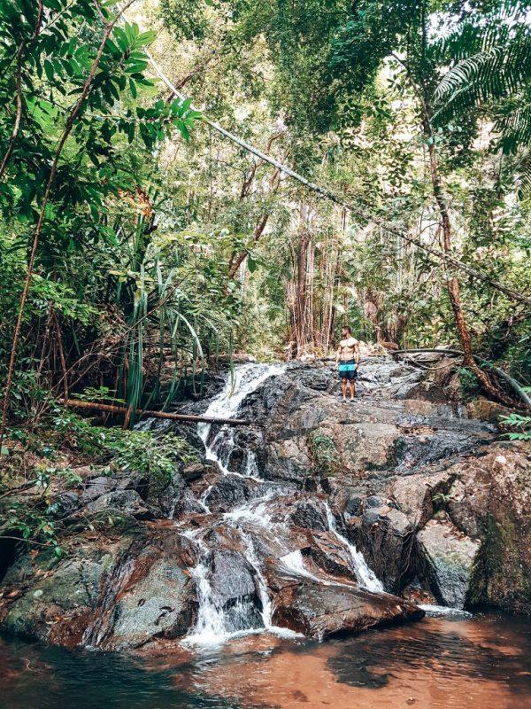 Waterfall Koh Adang Island