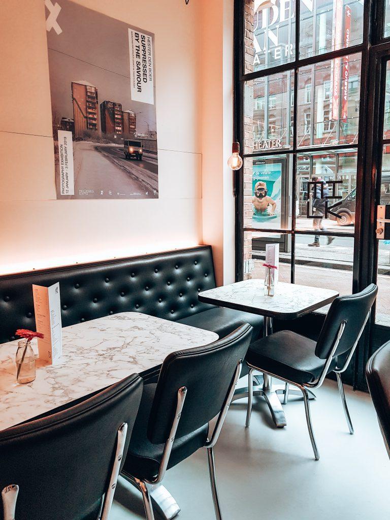 Interior MILK Café Amsterdam