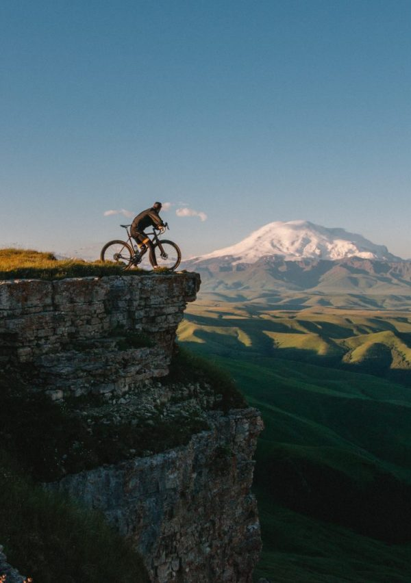 Cycling on top of the world