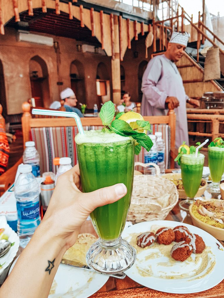Mint juice Nizwa, Oman