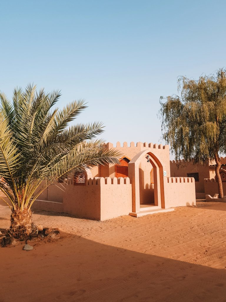 Oryx desert camp Oman