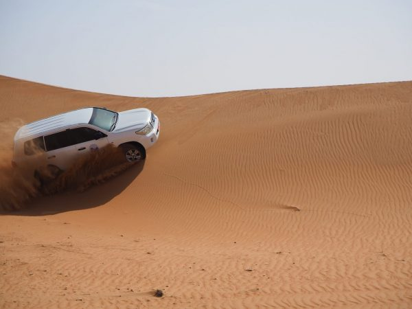 Sand driting 4x4 in Oman