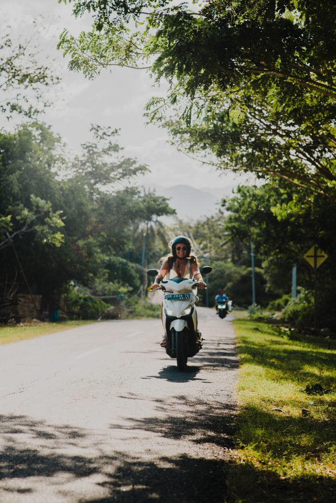Bali on a scooter