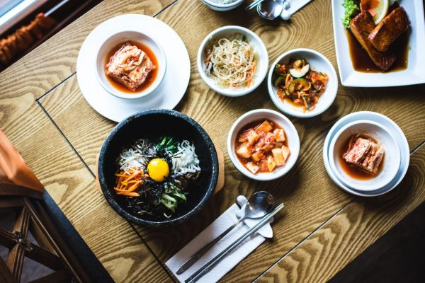 Korean food in Amsterdam
