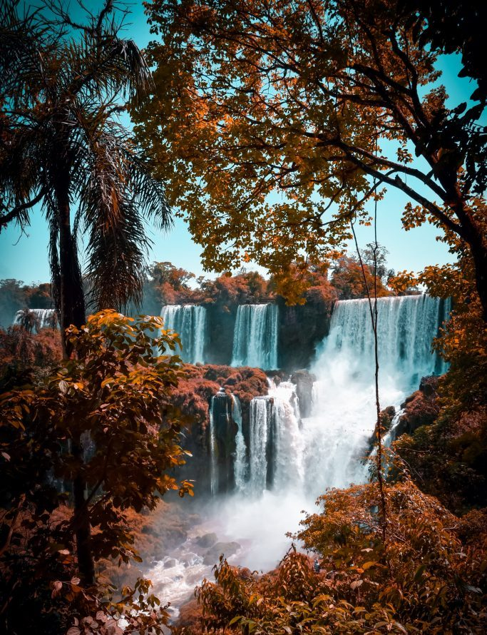 Waterfalls. The diversity of Argentina