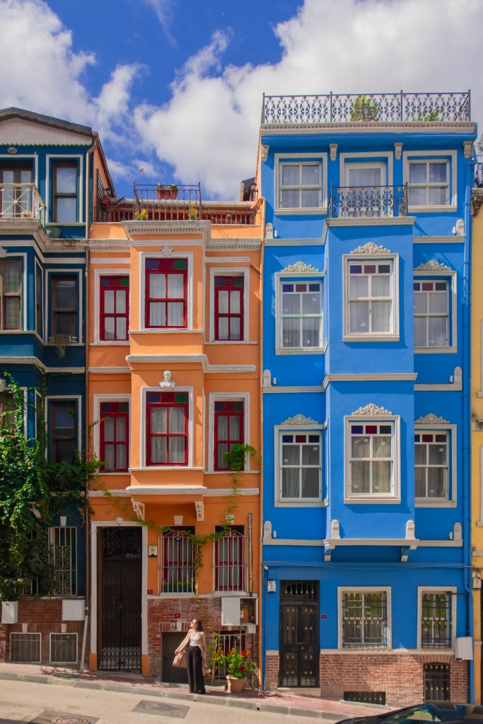 Istanbul colorful houses