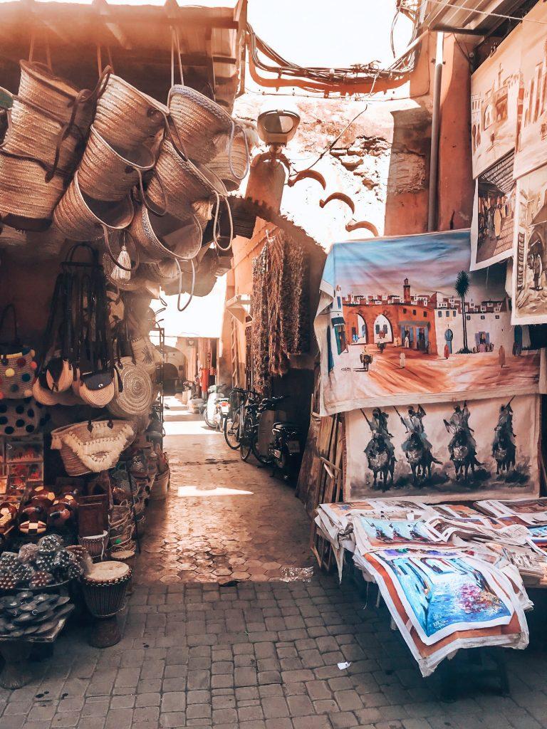 Shopping in Medina, Marrakech