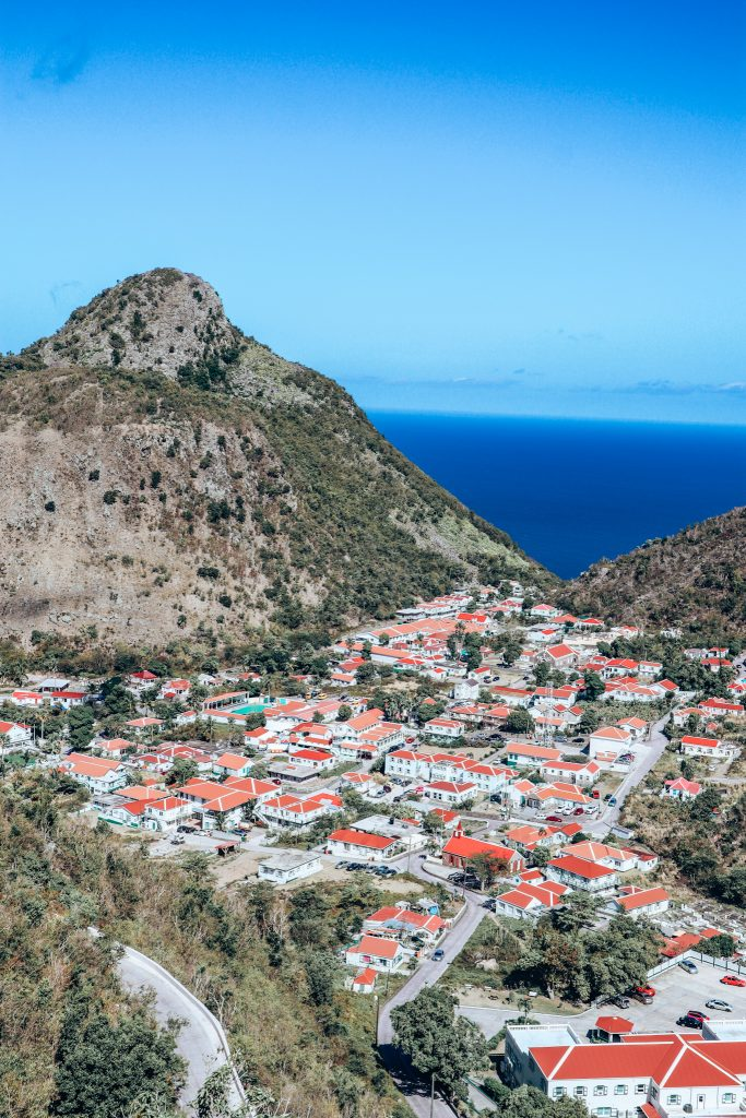 Saba from the air