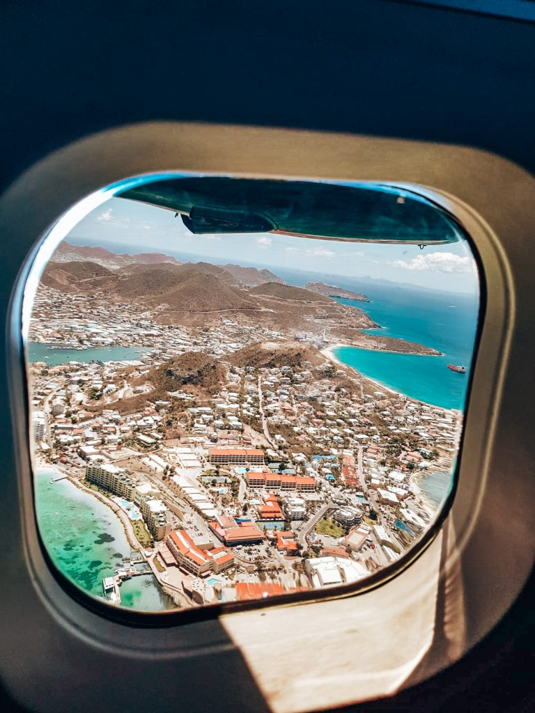 Flying to Saba from Sint Maarten