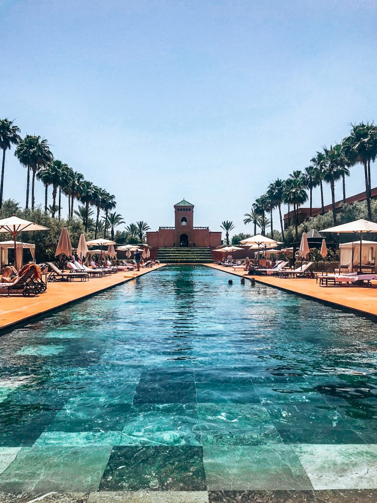 Swimming pool Marrakech guide