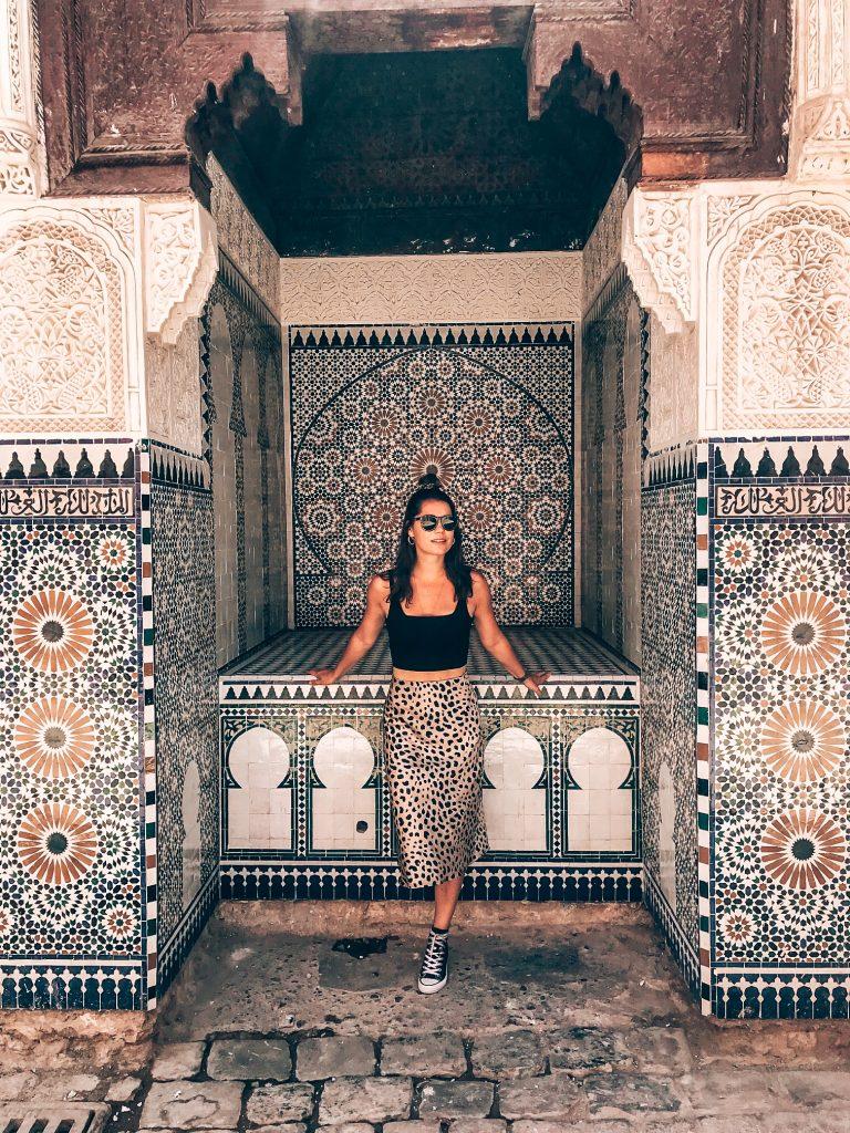 Sarah in Marrakech 2019