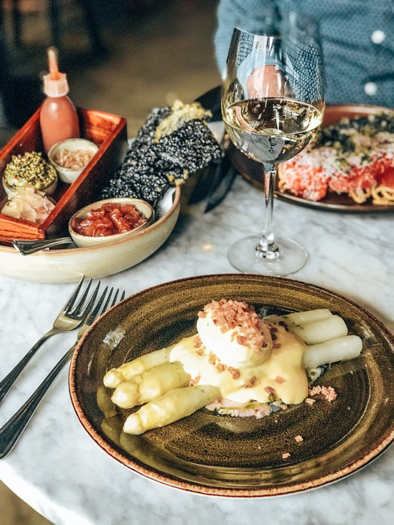 Food at Café Cliché