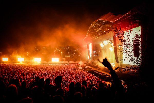 Rock en Seine festival in Paris