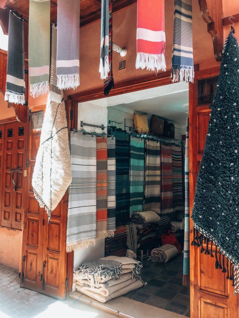 Carpets in Marrakech