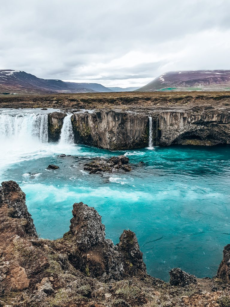 Goðafoss waterfall North Iceland