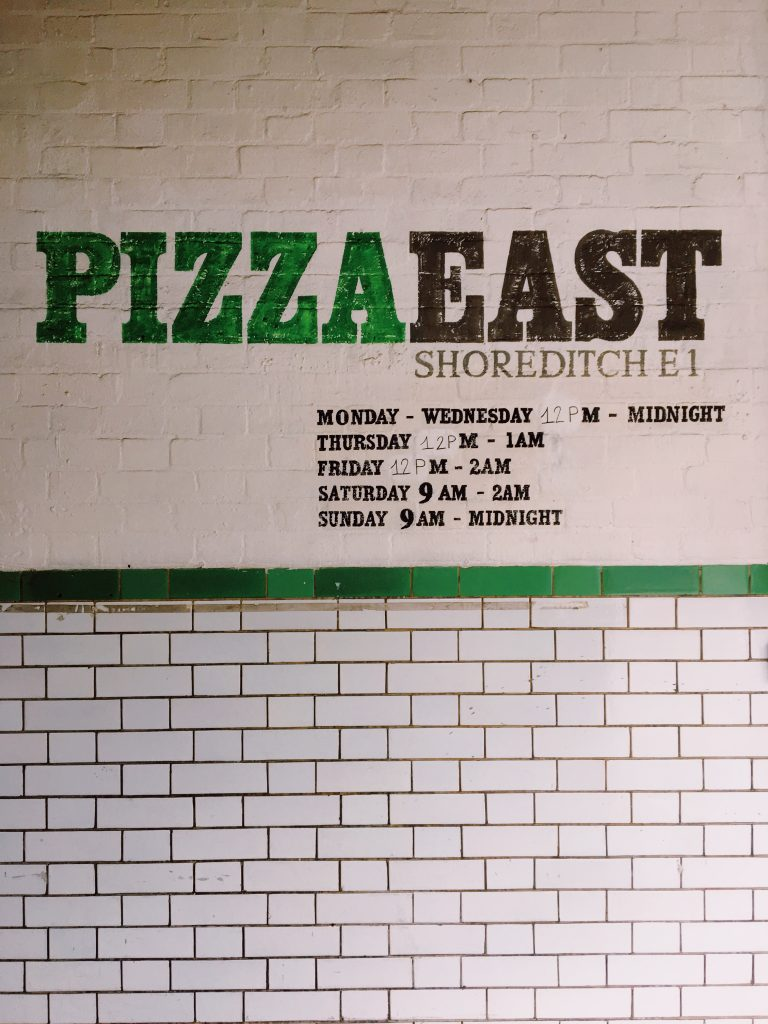 Pizza East, Shoreditch