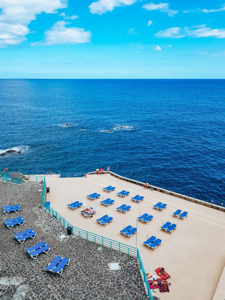 Concrete beach Madeira
