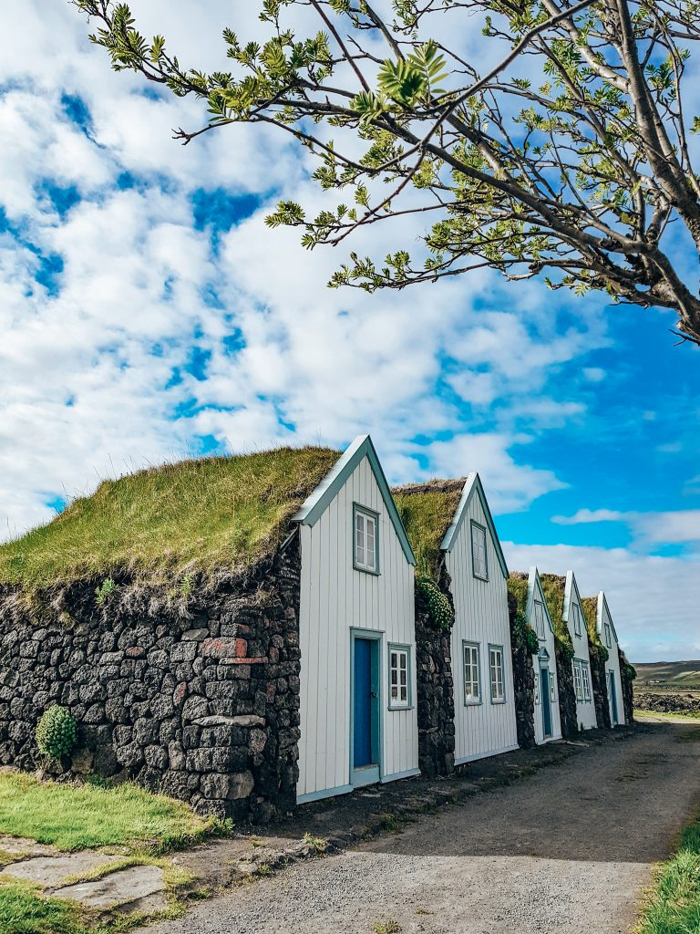 Icelandic Turf Houses Northern Iceland