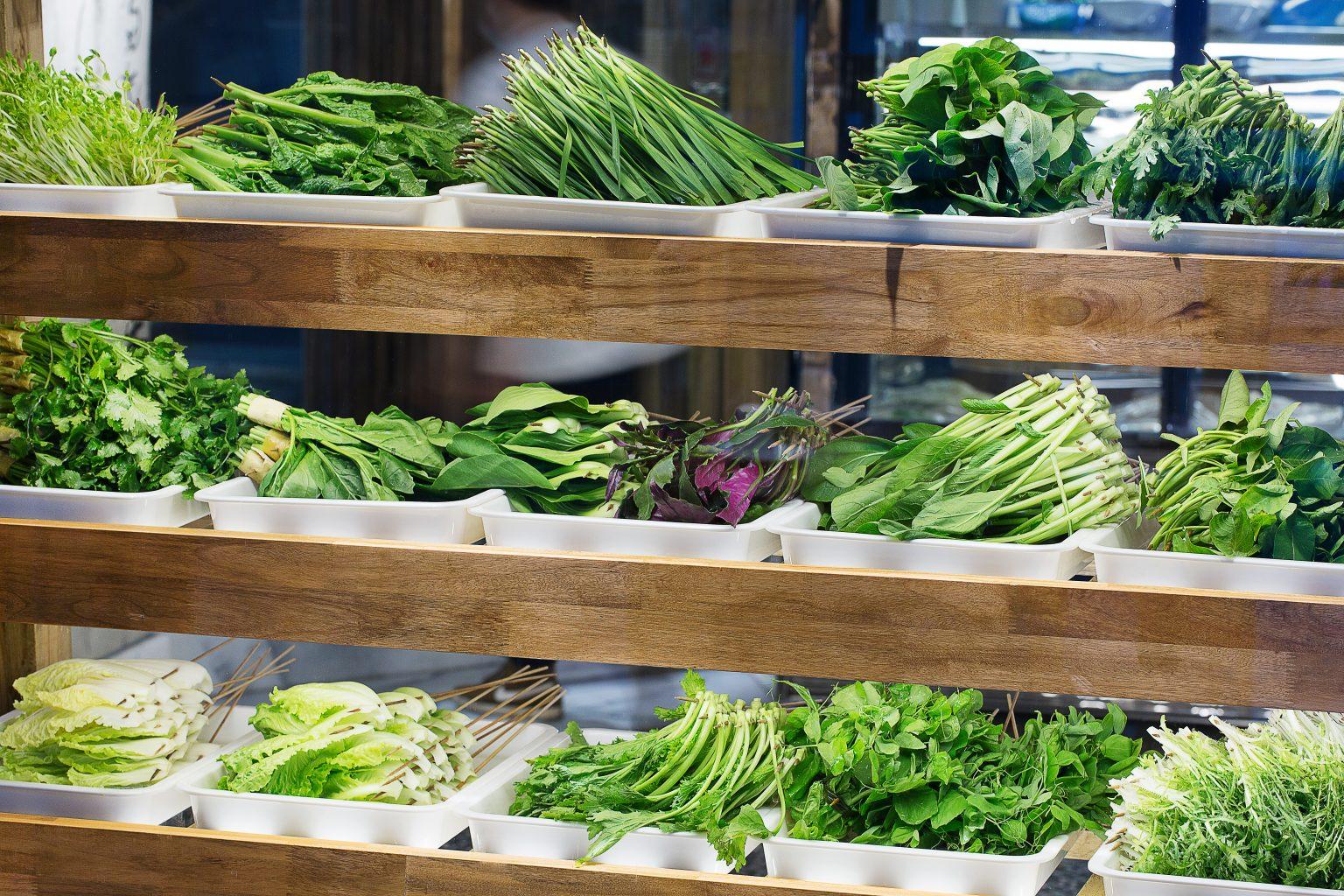 Yuan's Hot Pot Vegetables