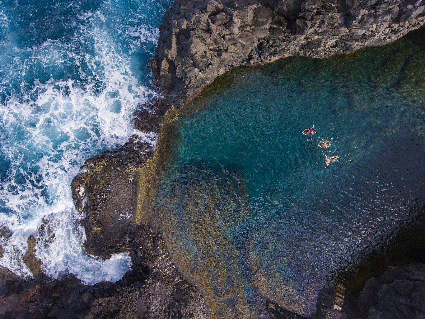 natural pools Madeira
