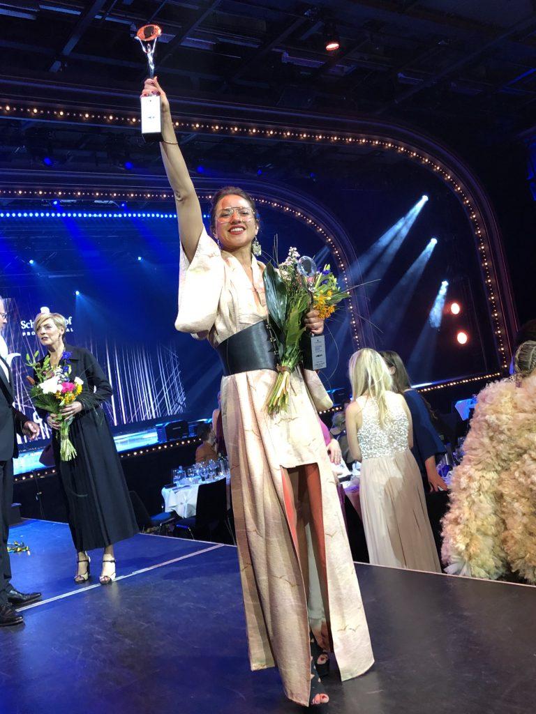 Juliette den Ouden wins award