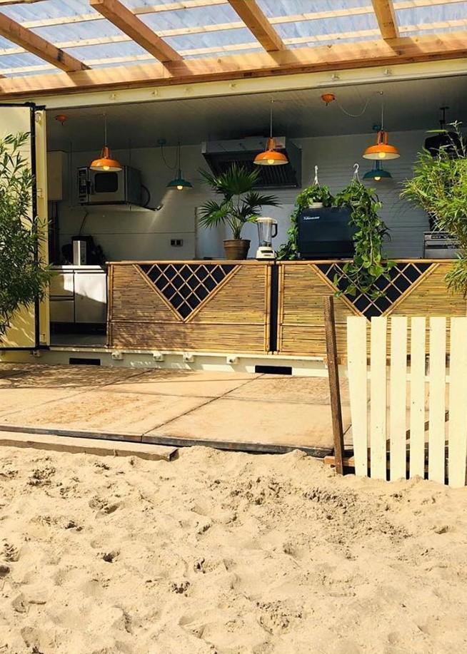 Paaseiland beach Amsterdam