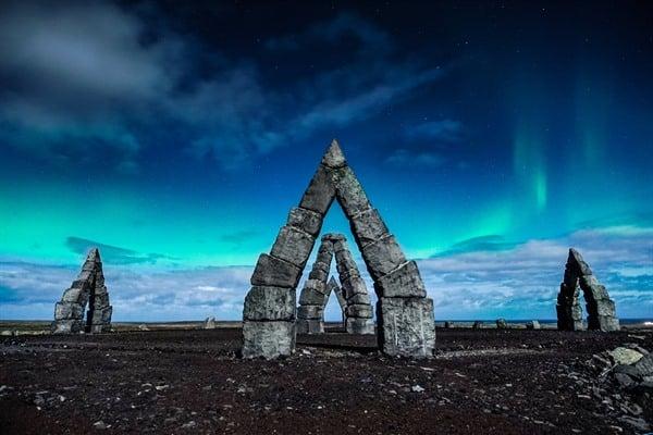Arctic Henge, North Iceland
