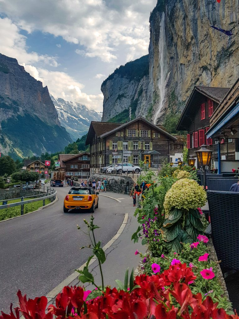 Lauterbrunen village