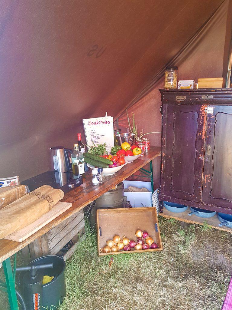 Pampus eiland keuken
