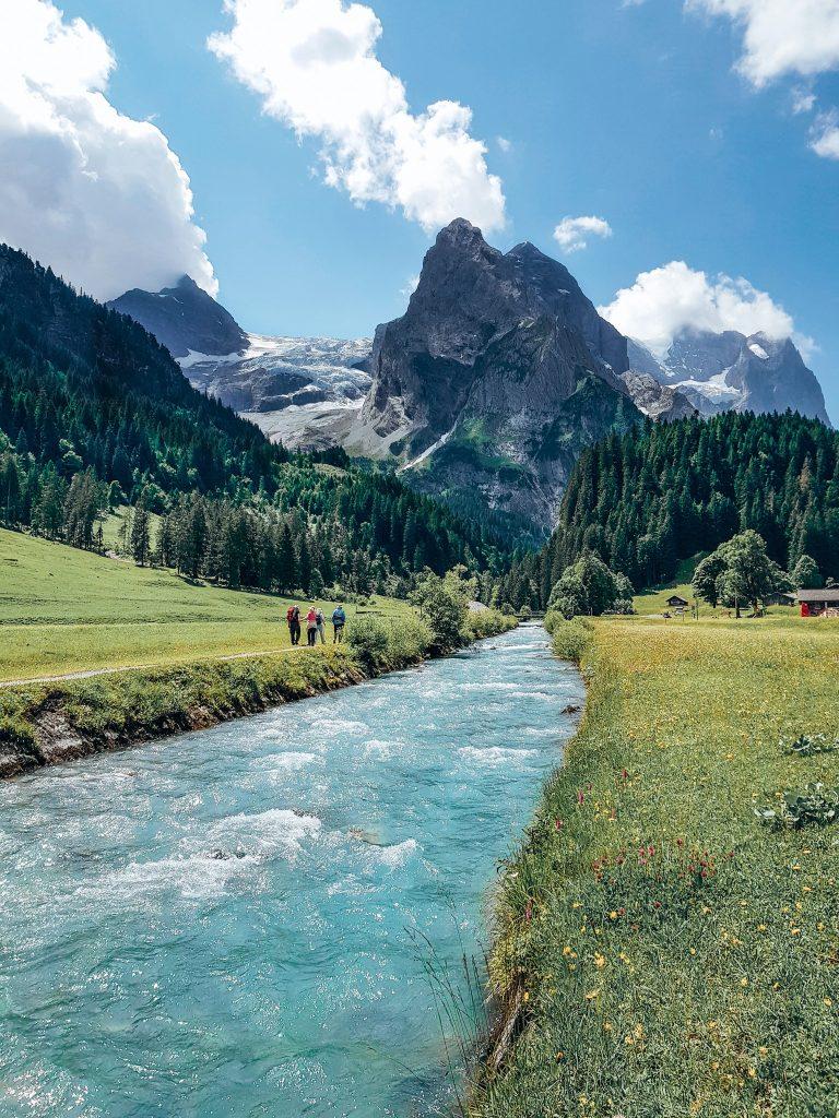 Rosenlaui Glacier Switzerland