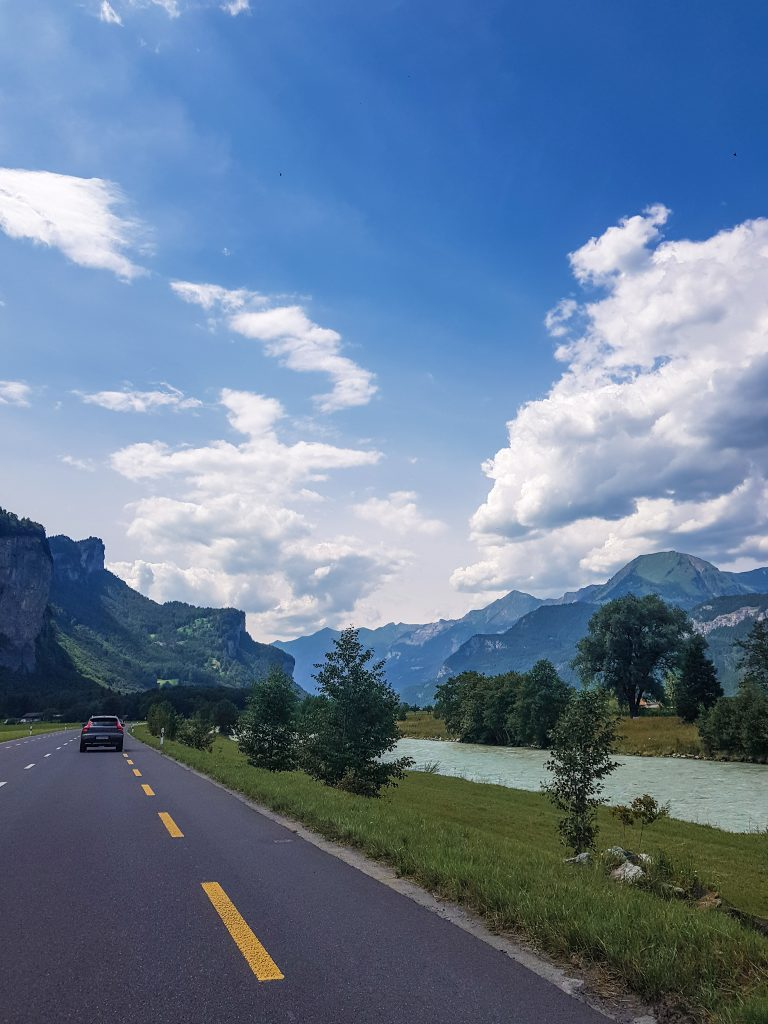 Switzerland roads