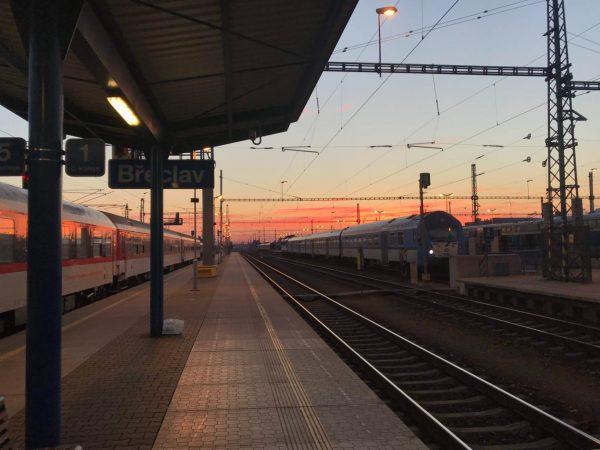 Train to Ostrava