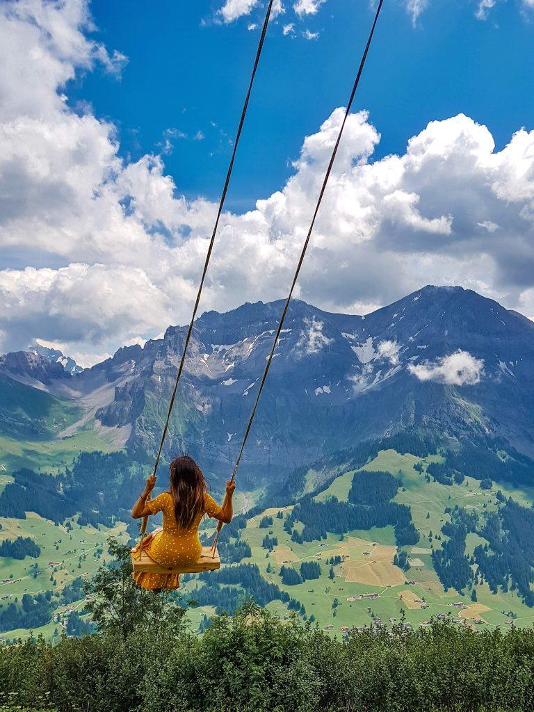 The Giant Swing Adelboden