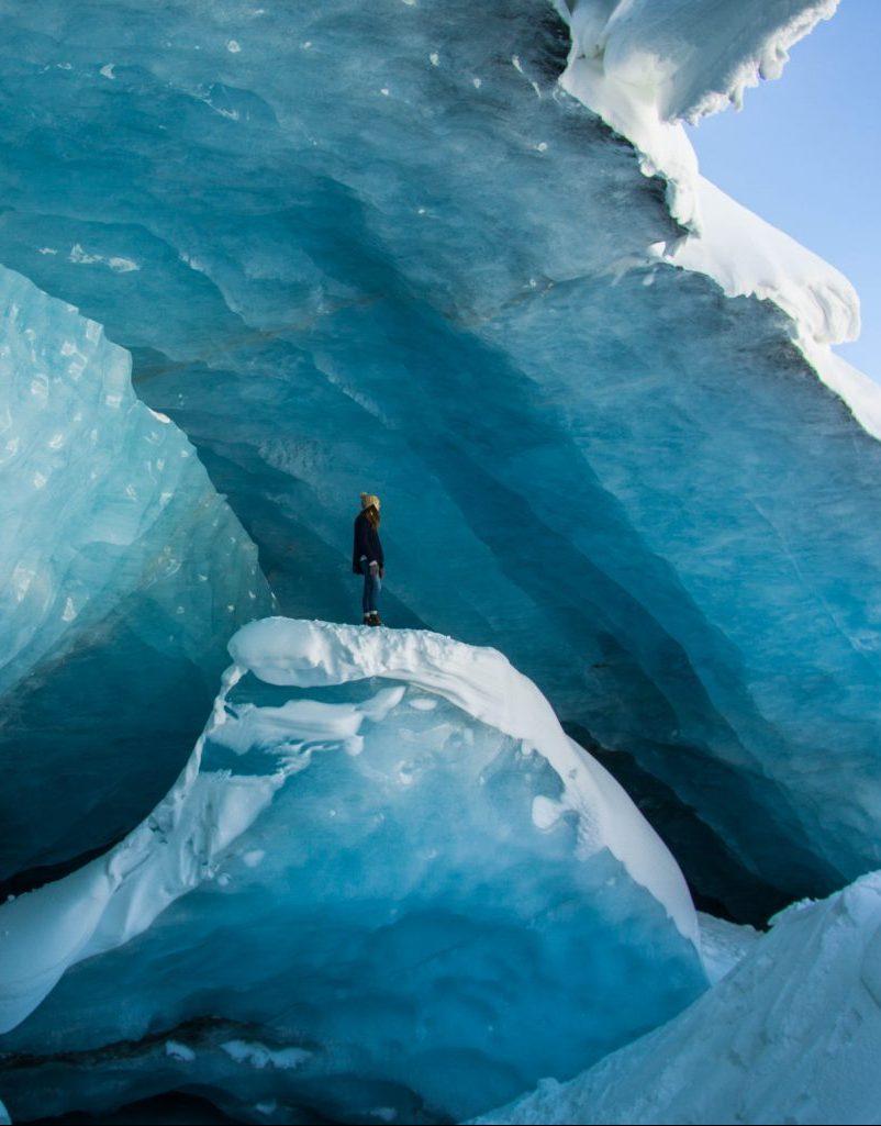 Ice Cave Jasper, Canada