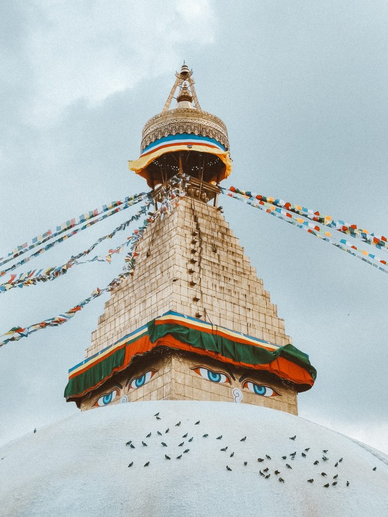 Boudhanath temple Nepal