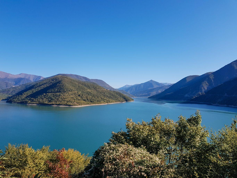 Jinvali reservoir, Georgia