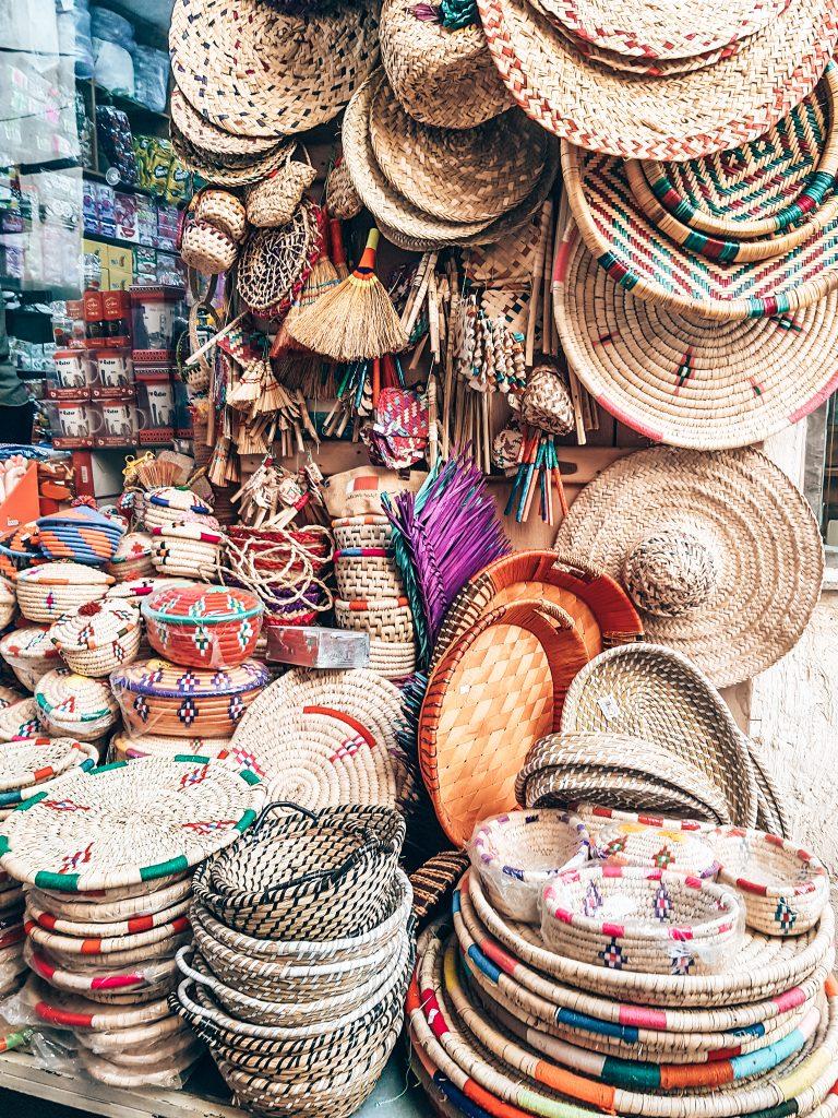 Baskets at Souq Waqif