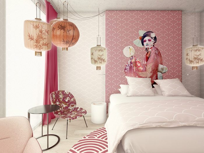 Pink room nhow hotel