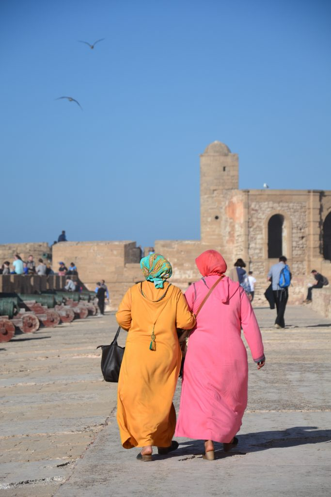 Women in Essaouira