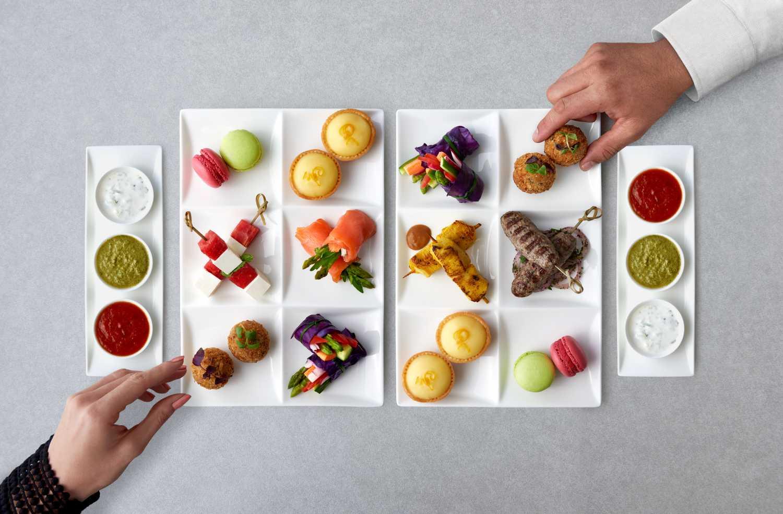 Food Qsuite Qatar Airways