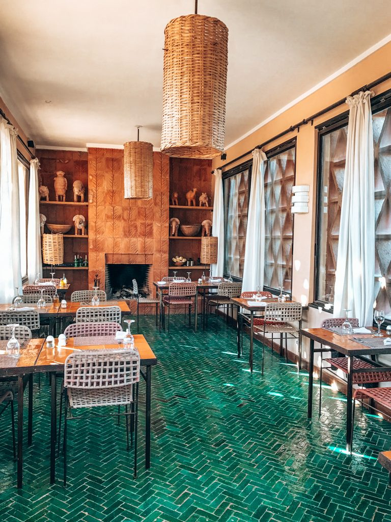 Breakfast room Dar la Hossoun, Taroudant