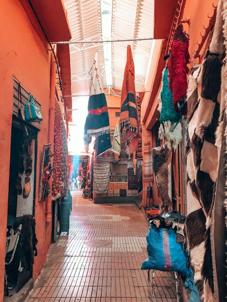 The souk in Taroudant Morocco