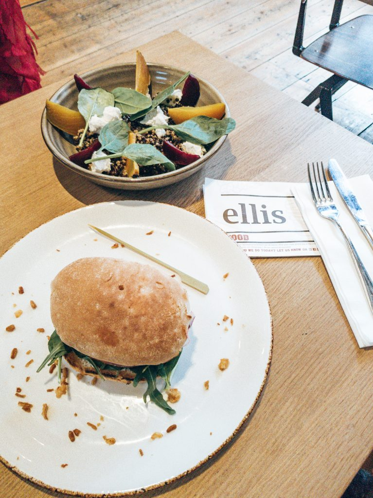 Vegetarian Burger Ellis Gourmet Burger