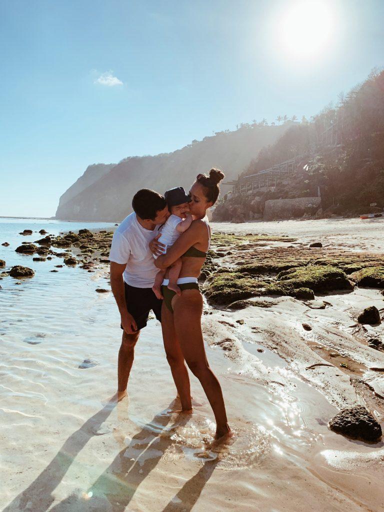 Welike Bali with baby